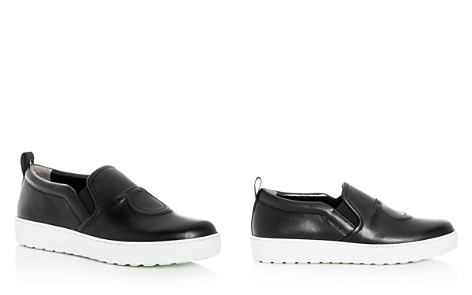 Salvatore Ferragamo Women's Leather Slip-On Sneakers - Bloomingdale's_2
