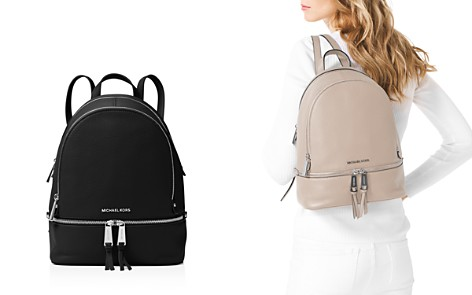 MICHAEL Michael Kors Rhea Zip Medium Leather Backpack - Bloomingdale's_2