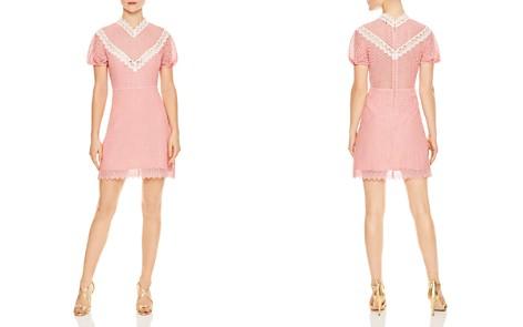 Sandro Gavin Lace Mini Dress - Bloomingdale's_2