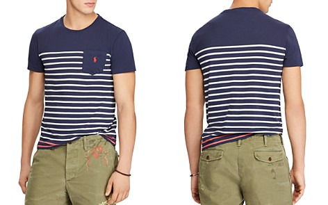 Polo Ralph Lauren Classic Fit Striped Jersey Crewneck Tee - Bloomingdale's_2