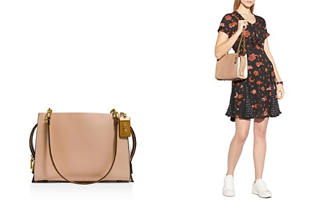 COACH 1941 Color-Block Small Rogue Leather Shoulder Bag - Bloomingdale's_2