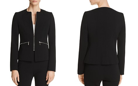 BOSS Jazulara Zip-Front Jacket - Bloomingdale's_2
