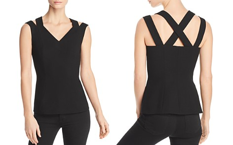BOSS Imasira Double-Strap Top - 100% Exclusive - Bloomingdale's_2