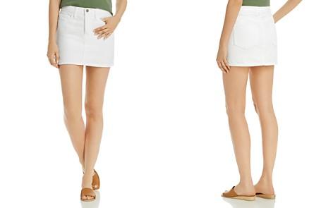 FRAME Le Denim Mini Skirt - Bloomingdale's_2
