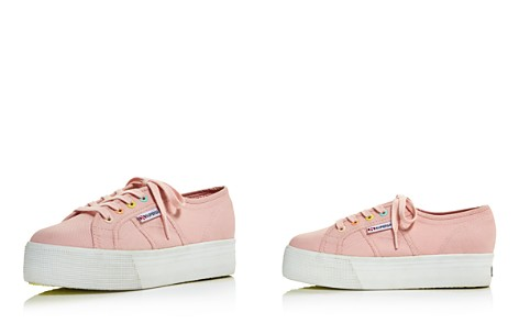 Superga Women's 2790 Coloreycotw Colored Eyelet Lace Up Platform Sneakers - 100% Exclusive - Bloomingdale's_2