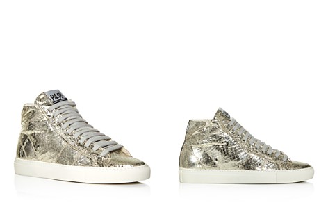 P448 Women's Star Embossed Metallic High Top Sneakers - Bloomingdale's_2