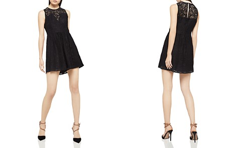 BCBGeneration Lace Fit-and-Flare Dress - Bloomingdale's_2