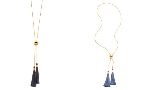 "Gorjana Carmen Adjustable Tassel Lariat Necklace, 18"" - Bloomingdale's_2"