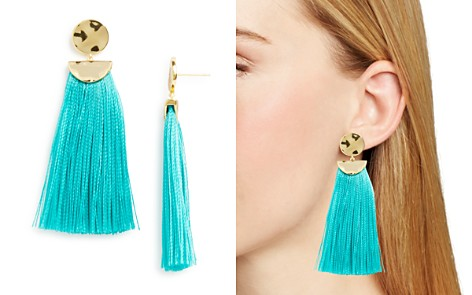 Gorjana Havana Circle Tassel Earrings - Bloomingdale's_2