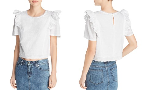 Beltaine Ruffled Lace Top - 100% Exclusive - Bloomingdale's_2
