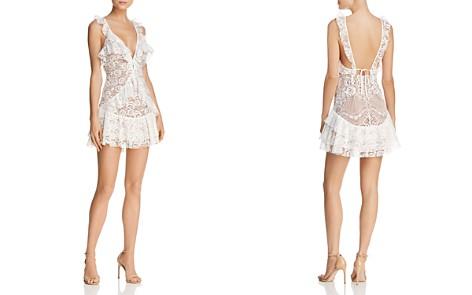 For Love & Lemons Tati Ruffled Lace Dress - 100% Exclusive - Bloomingdale's_2