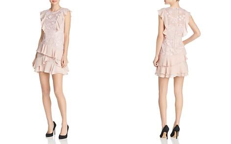 Parker Gabriel Ruffle-Trimmed Lace Dress - Bloomingdale's_2