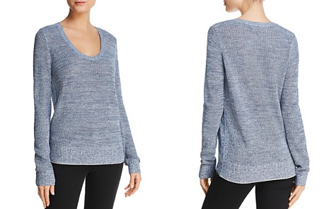 Theory Scoop Neck Sweater - Bloomingdale's_2