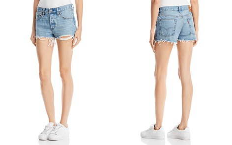 Levi's 501® Embellished Denim Shorts in Hotline Bling - Bloomingdale's_2