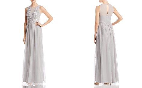 Adrianna Papell Embellished Tulle Gown - Bloomingdale's_2
