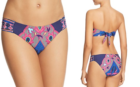 Trina Turk Sri Lanka Shirred Side Hipster Bikini Bottom - 100% Exclusive - Bloomingdale's_2