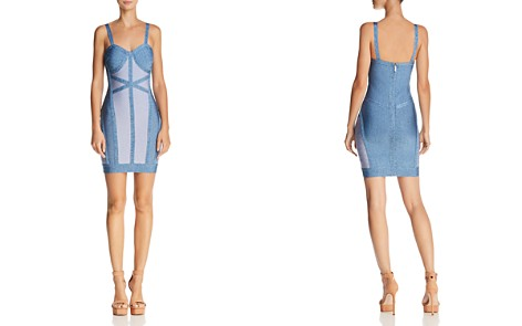 WOW Couture Color-Block Body-Con Dress - Bloomingdale's_2