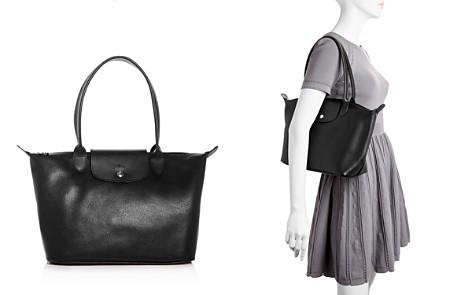 Longchamp Le Foulonné Leather Shoulder Bag - 100% Exclusive - Bloomingdale's_2