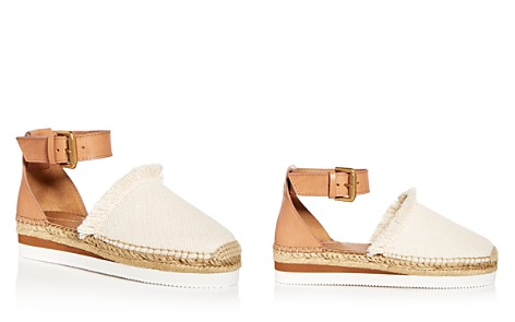 See by Chloé Women's Ankle Strap D'Orsay Espadrille Platform Sandals - Bloomingdale's_2