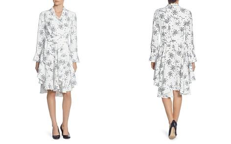 CATHERINE Catherine Malandrino Rene Dot Asymmetric Wrap Dress - Bloomingdale's_2
