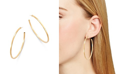Bloomingdale's Square Tube Hoop Earrings in 14K Yellow Gold - 100% Exclusive _2