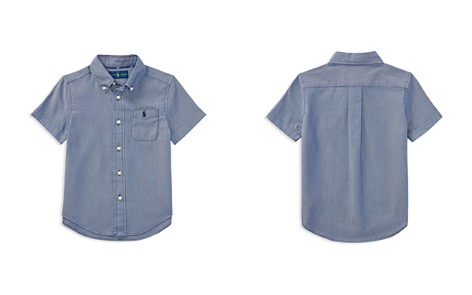 Polo Ralph Lauren Boys' Performance Oxford Shirt - Little Kid - Bloomingdale's_2