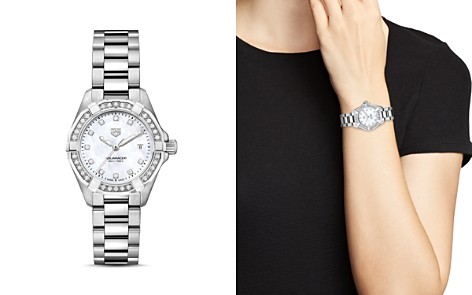 TAG Heuer Aquaracer Diamond Bezel Watch, 27mm - Bloomingdale's_2