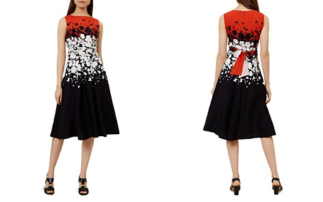 HOBBS LONDON Connie Floral Print Fit-and-Flare Dress - Bloomingdale's_2