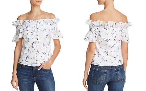 Rebecca Taylor Francine Off-the-Shoulder Top - Bloomingdale's_2