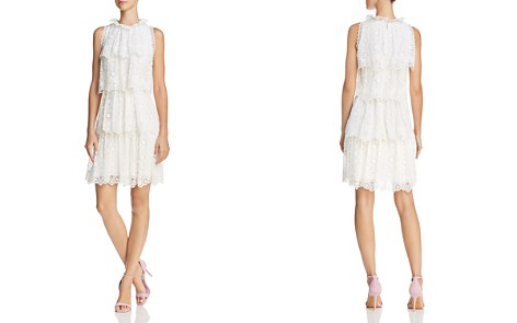 Rebecca Taylor Pinwheel Lace Dress - Bloomingdale's_2