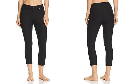 HUE Ankle Slit Essential Denim Capri Leggings - Bloomingdale's_2
