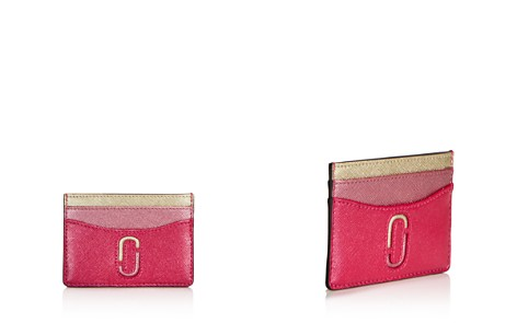 MARC JACOBS Double-J Saffiano Leather Card Case - Bloomingdale's_2