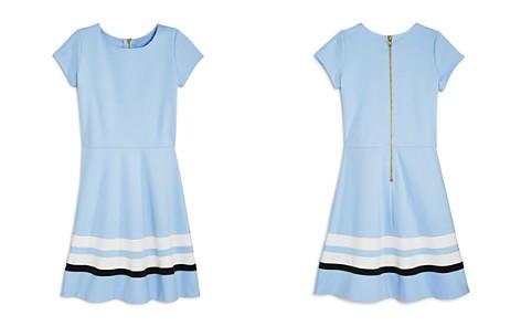 AQUA Girls' Solid & Striped Dress, Big Kid - 100% Exclusive - Bloomingdale's_2
