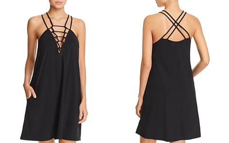 Profile by Gottex Casablanca Knotted Front Dress Swim Cover-Up - Bloomingdale's_2