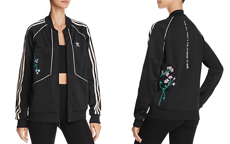 adidas Originals Embroidered Striped Track Jacket - Bloomingdale's_2