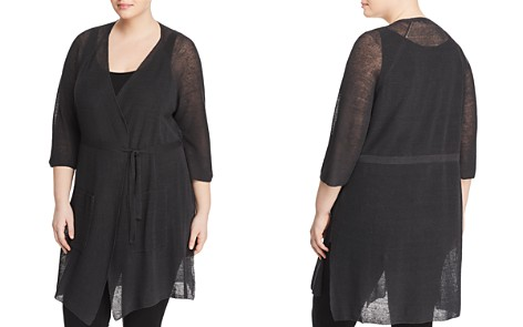 Eileen Fisher Plus Kimono Duster Cardigan - Bloomingdale's_2