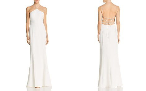 Laundry by Shelli Segal Tie-Back Gown - 100% Exclusive - Bloomingdale's_2