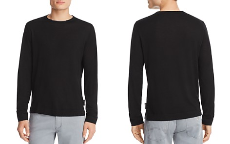 Emporio Armani Solid Knit Sweater - Bloomingdale's_2