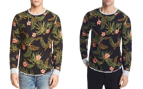 Spiritual Gangster Droptop Tropical Long Sleeve Tee - Bloomingdale's_2