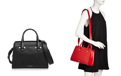 Salvatore Ferragamo Today Small Leather Tote - Bloomingdale's_2