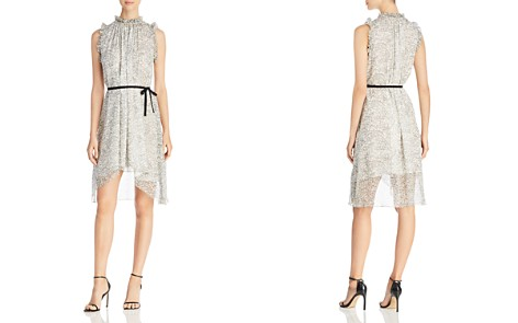 Elie Tahari Balere Swirl Print Silk Dress - Bloomingdale's_2