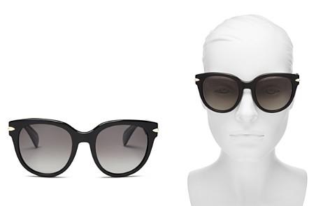 rag & bone 1003 Polarized Round Sunglasses, 54mm - Bloomingdale's_2
