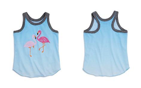 CHASER Girls' Ombré Flamingo Racerback Tank - Little Kid, Big Kid - Bloomingdale's_2