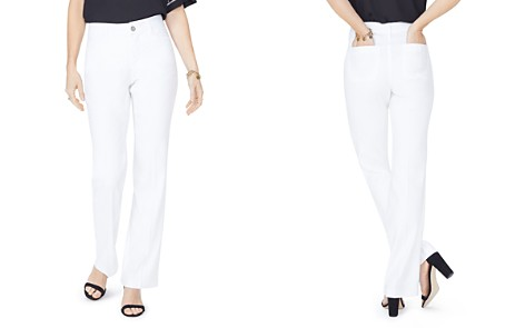 NYDJ Petites Straight-Leg Pants - Bloomingdale's_2