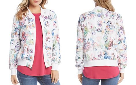 Karen Kane Floral Embroidered Bomber Jacket - Bloomingdale's_2