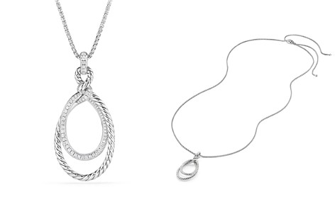 David Yurman Continuance Pendant Necklace with Diamonds - Bloomingdale's_2