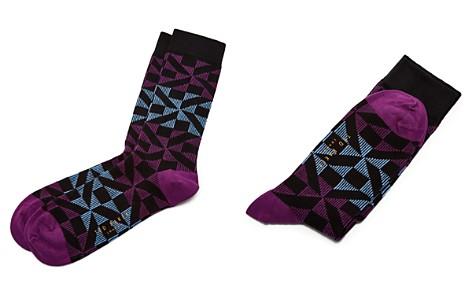 Ted Baker Newhome Geo Socks - Bloomingdale's_2