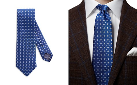 Eton Medallion Neat Classic Tie - Bloomingdale's_2