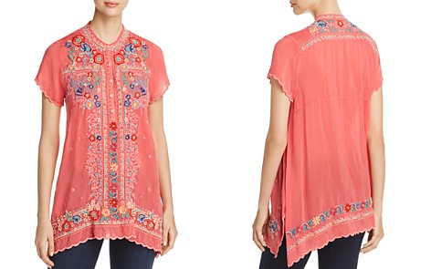 Johnny Was Mikones Embroidered Tunic Top - Bloomingdale's_2
