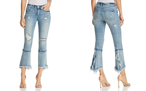BLANKNYC Distressed Cropped Flared Jeans in Lose My Mind - 100% Exclusive - Bloomingdale's_2